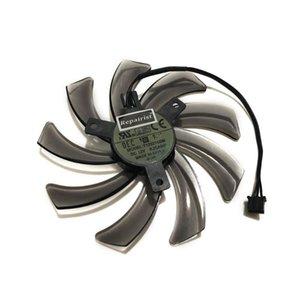 R7 350 / 260X GPU refrigerador da placa de vídeo Ventilador para Gigabyte GV-R726X-2GD GV-R735OC Sistema de refrigeração da placa gráfica como substituição