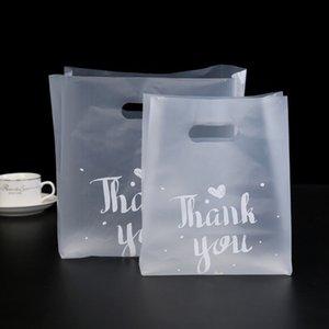 1000 قطع شكرا لك حقيبة الخبز البلاستيك الحلوى كوكي هدية حقيبة حفل زفاف الإحسان الشفافة الوجبات الجاهزة تغليف أكياس التسوق