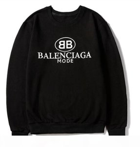 2020 Men's Hoodies Sweatshirts Men Women Hooded Fashion streetwear pullovers Sweater Mens Hoodie 13BalencİAgaSweatshirt