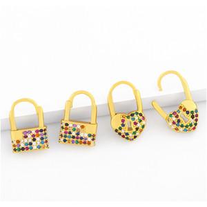 New Accessories Heart Shape Eardrop Womens Designer Zircon Eardrop Earring Erv13 New Accessories sqctDa jeneffer