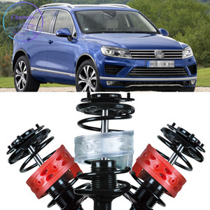 For Volkswagen VW Touareg 2pcs High Quality Front Shock Suspension Cushion Buffer Spring Bumper Rubber Buffer SEBS