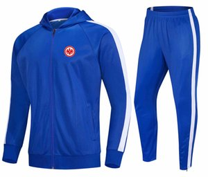 2021 Eintracht Frankfur Anti_Bacterial football training tracksuit loose and comfortable outdoor running suits Autumn and Winter Soccer Sets