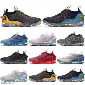 2020 zapatos de running de punto para hombres Mujeres 360 Summit White Pure Platinum para hombre entrenadores para mujer zapatillas deportivas Tamaño 36-45