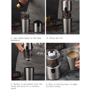 Автоматическая кофемашина Cup Portable Coffee Machine Cup Office бытовой на открытом воздухе USB зарядка односторонняя работа