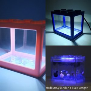 TxEoj Mini Plant Shape plastic Decoration Air Natural Aquarium fish tank Trunk Driftwood Tree light Lego blocks Aquarium Fish landscape