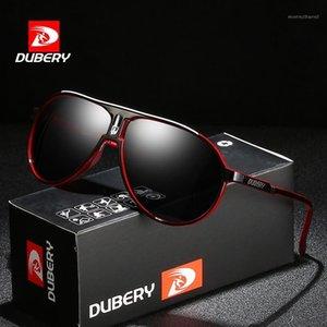 Солнцезащитные очки Dubery Classic Pilot Polarized Мужчины Спорт Стиль Дизайнер Ретро Солнцезащитные Очки Легкие Очки Цвета УФ-очки A881