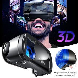 VRG Pro 3D Glasses VR Virtual Reality Helmet For Smartphone Samsung Eyeglasses VR Devices for Games for 5-7' Mobile Phone LJ200917