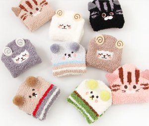 Fuzzy Warm Slipper Socks Women Furry Super Soft Microfiber Cozy Sleeping Socks Animal Low Cut Fluffy Non Slip Casual Socks