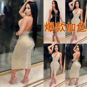 K6TN TwoDress Street Womens High Pie Tanks sin mangas Tops y Blush Dos Drawstring Sexy Dress Dress Dress Slim Hip Mini Vestidos