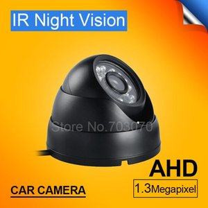 1.3mp hd vehicle camera waterproof indoor camera for mobile dvr with night vision ir ahd car free shipping