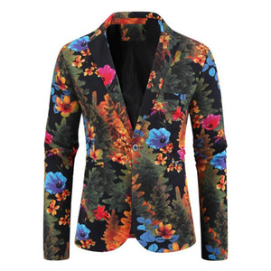 2020 New Fashion Luxury Formal wedding Dress Stage Costumes for Singers Single Breasted Suit Blazer Men