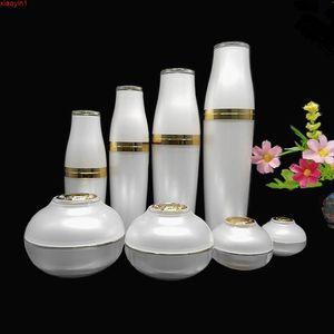Cosmetic Containers Small Samples Bottles Empty Cream Jar Korean Design Bottle Suit 5g 10g 30g 50g 30ml 50ml 80ml 120mlhigh quatity