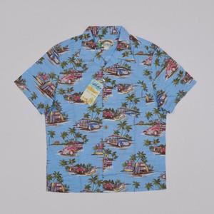 Toiles chaudes Voiture Surf Hawaiian Chemises graphiques Été Coton Beach t cool 1R94