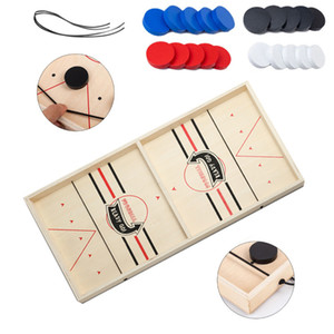 Foosball Winner Games Table Hockey Game Catapult Chess Parent-child Interactive Toy Fast Sling Puck Board Game Toys For Children GWD3479