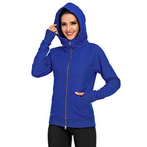 Custom Wholesale Women High Quality Long Sleeve Street Wear Sweatshirts Zipper Hoodies