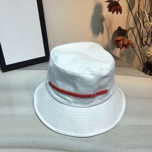 Prada hat Chapeau de godet de mode de haute qualité Mesans Bucket Fashion Fit Sports Plage Papa Pêcheur Chapeau de pêche Chapeau de baseball