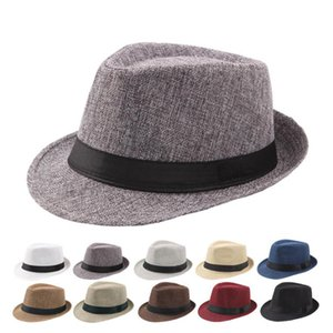 Small brimmed hats spring and summer men and women shade curled beach fashion trend sun hats