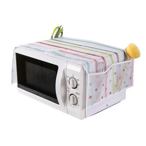 Kitchen Microwave Oven Cover Household Multi Pocket Ovens Dust Covers Currency Prevent Oil Shield New Arrival 2 35zm L1