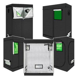 5 Dimensione Impianto ad alta riflessione Grow Tenda Black Non tossica capanna coperta con finestra verde