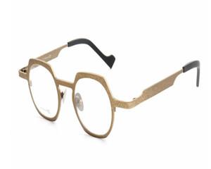 Luxury-MONGOTEN Unisex Retro Full Rim B-titanium Prescriptions Lens Optical Eyewear Frame Anti-fatigue Presbyopia Reading Eyeglasses
