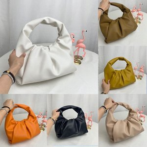 2020 The shoulder pouch womens bags new Fashion Tote bags genuine leather handbags purse The Pouch women Clutch Cloud Bag High quality Z6SF#