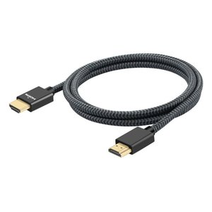 4k HDMI Cable ,18Gbps High Speed HDMI 2.0 Cable, 4K HDR, HDCP 2.2 1.4, 3D, 2160P, 1080P, Ethernet - Braided HDMI Cord 32AWG