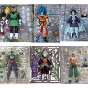 SH Figuarts Son Goku Blue Super Saiyan Saiyaman Gohan Hercule Piccolo Tenshinhan Zamasu Действия Игрушка 201202