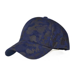 New style baseball cap outdoor sports men camouflage leather PU military fan cap