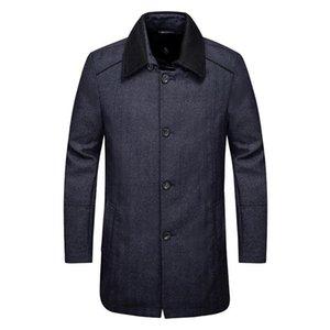 JS423. Jack brand men's autumn winter cloth coat 90.2% wool 9.8% cashmere leisure long coat