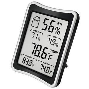 Цифровая ЖК-среда Среда Термометр Гигрометр Влажность Температура Метр Большой экран Крытый бытовой термометры и гигрометр GWD3653