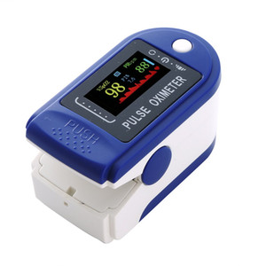Finger Oximeter Digital Fingertip Pulse Oximeter Blood Oxygen Saturation Meter Finger SPO2 PR Heart Rate Monitor Health Care
