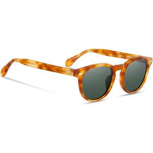 Gafas de sol retro retro de los hombres de Eyeglow Material de acetato de lentes polarizantes para mujer