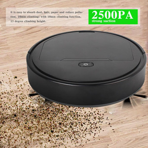Robot And Mop Sweeping Smart Vacuum Cleaner Sweep Automatic Cleaning Tool For Pet Hair Carpets  Hard Floors Clean Y1201