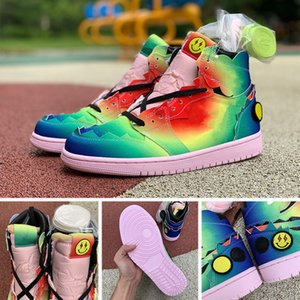 retro 1 1s With Box Laces 2021 New OG Top Quality Basketball Shoes 1 1s Mens Womens Jumpman TIE DYE Luxurys Sport Trainers 스니커즈 SIZE 36-47