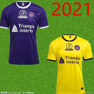 20 21men FC Toulouse Soccer Jerseys Home Third 2020 Sangare Diakite Kone Gradel سعيد Sylla Jersey Football Shirts