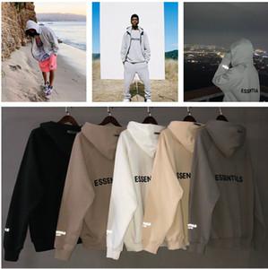 Oficial Novo Zíper de alta qualidade Cardigan Mens e Womens Hoodies Lazer Moda Tendências Medo de Deus Nevoeiro Essentials Homens Mulheres Designer Mens