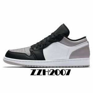 Retro 1 2020 1 High OG Travis Scott 1s Pattini di pallacanestro Fearless Zoom Racer Blu Obsidian UNC Mens Trainers 4s 11s Sport Sneakers con la scatola