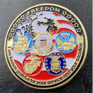 American Eagle sea Army Marine Corps collection commemorative coins