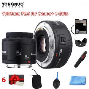 YONGNUO 35mm YN35MM F2.0 grandangolare fisso / Prime obiettivo a fuoco automatico per Canon Canon Bid-Angolo AUTO FOCUS LES 60D 5DII 5D1