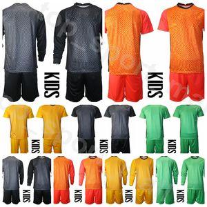 EUA crianças guarda-redes de futebol manga longa juventude tim howard jersey set golie bill hamid ethan horvath ashlyn harris solo camisa de futebol kits