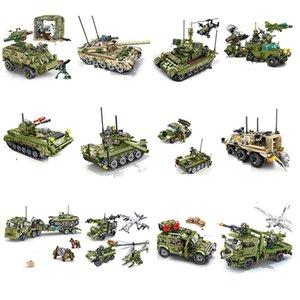 15 styles SEMBO militaires suivis infanterie d'infanterie de combat blindé ASSAULT ASSOCK ASSOCK'S Construction Block Jouet C0119
