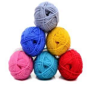 50g Soft Natural Smooth Baby Cashmere Silk Wool Hand Knitting Crochet Yarn Ball Woolcraft Winter Fashion