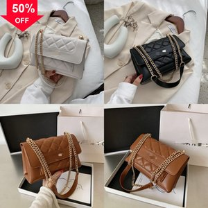 Hot Handbags Top Quality Fashion METIS sale small Purses Classic metal lether K Mono Chain Hasp handbag Bag Women Tote Leather Shoulder Bags