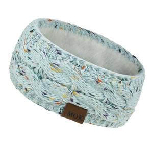 Knitted Headband Winter Women Lady Warmer Crochet Turban Head Wrap Plush Earflaps Elastic Headwrap Hairbands jlltyG bde_jewelry