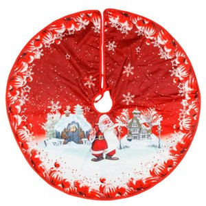 Christmas Tree Skirt Carpet Christmas Tree Decoration Skirt Ornaments Holiday Party Supplies