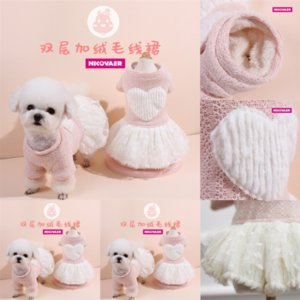 qrK Pet Apparel T Doggy Clothing Small Pet Shirt Jumpsuit Cat Jacket Soft high quality Dog Vest Clothes Sweater Puppy Cheap Summer Outfit