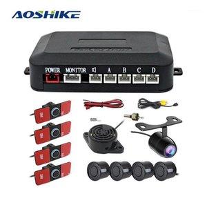 Aoshike Car Parking الاستشعار ل DVR كاميرا / Mulit Monitor / disaplay وقوف السيارات الرادار الوفير الحرس احتياطية Universal1