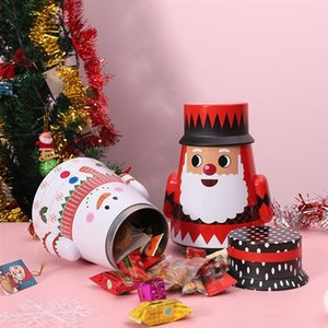 Box Cookie Holder For Family Christmas Tumbler Candy Storage Iron