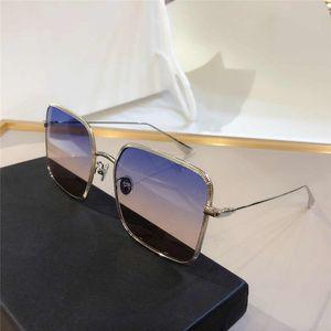 BY New Fashion Women Sunglasses Large Square Slim Elegant Style Metal Frame Full Frame Goggles High Quality UV-proof UV-400 Glasses Free Bo
