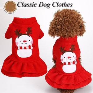 New Year Dog Coat Winter Cat Dogs Clothes for Small Dog Costume Clothes Santa Claus Costume for Teddy Christmas Cat Warm Coats